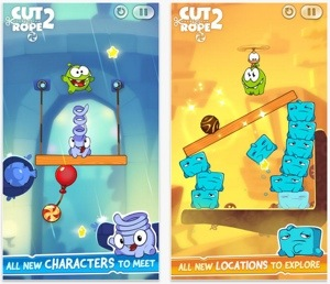 Cut The Rope 2 now on Available on App Store