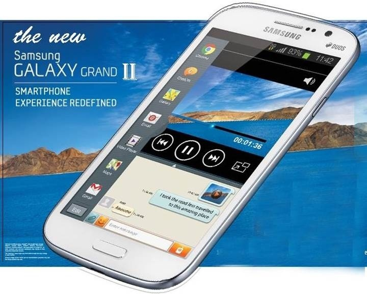 Samsung launches Galaxy Grand 2 in India, available in January'14