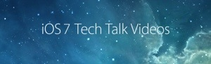 Apple posts iOS Tech Talk Tour slides & Videos