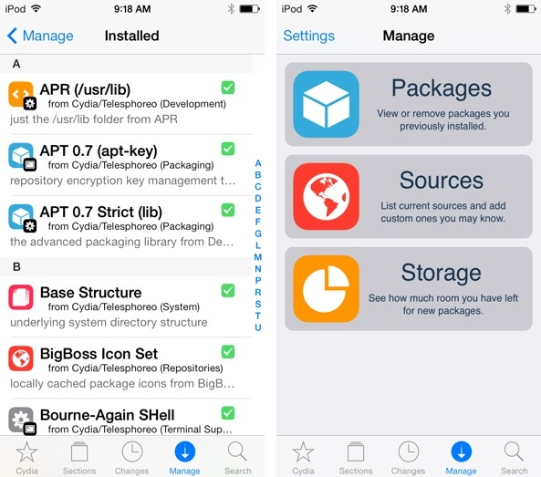Jailbreak : Cydia updated for iOS 7