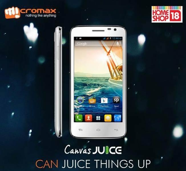 Micromax launches Canvas Juice A77 for Rs 7,999