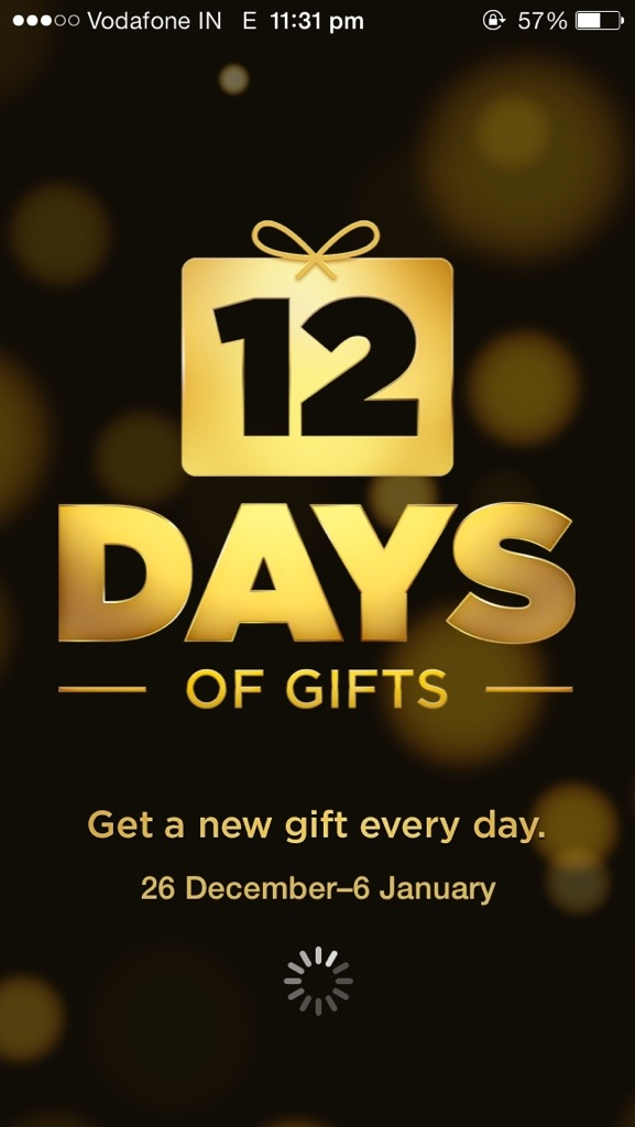 "Day 8 of Apple's ""12 Days of Gift"" : SoundHound infinity free"