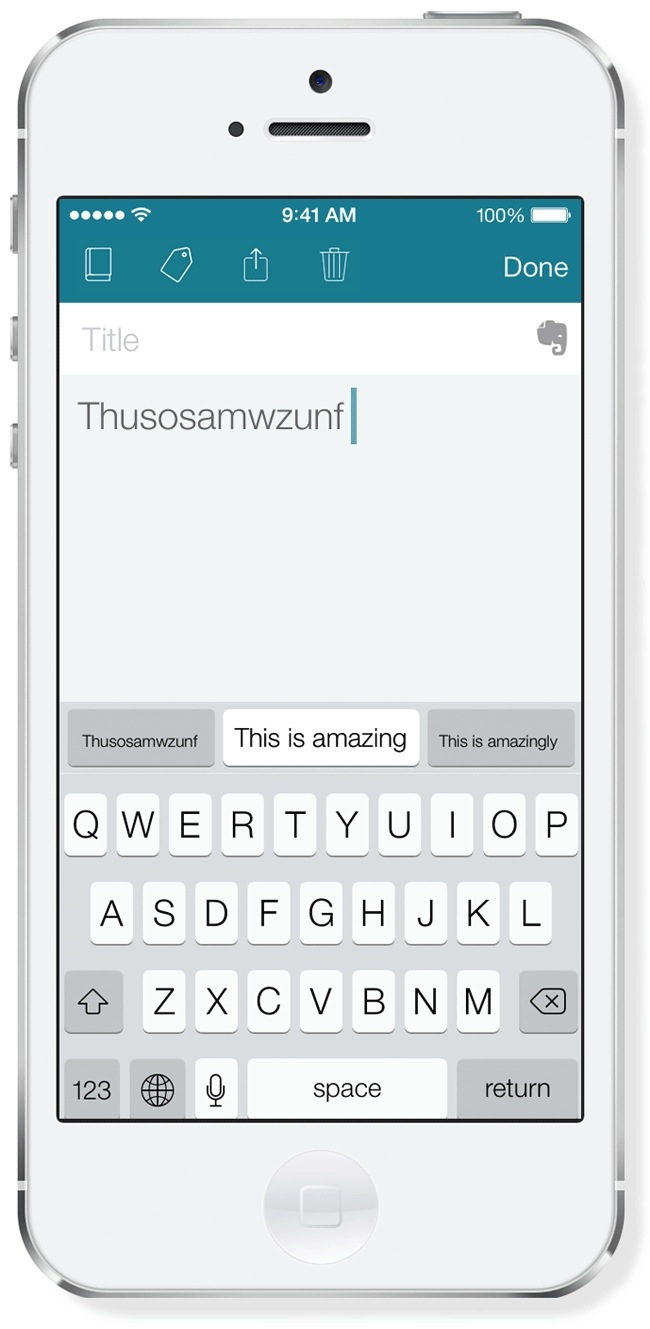SwiftKey Note arrives on iPhone and iPad, brings prediction and auto correction
