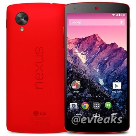 LG Nexus 5 Now Available on Indian Play Store in Bright Red color