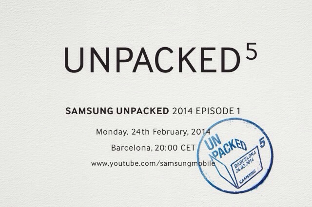 Samsung sent invites for Galaxy S5 event, to be unveiled on 24 Feb