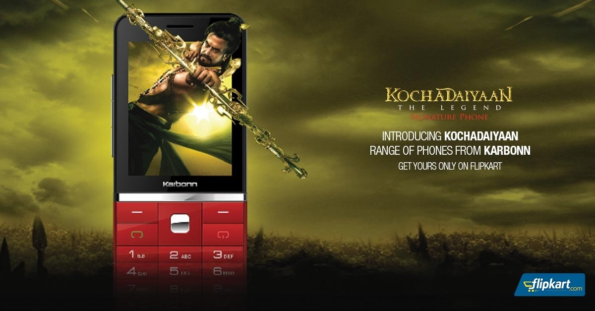 Karbonn launches special 'Kochadaiyaan' phones, available for pre-order on Flipkart