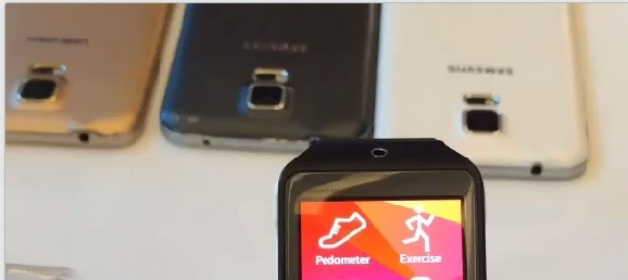Samsung Galaxy S5 Caught on video ahead of official launch
