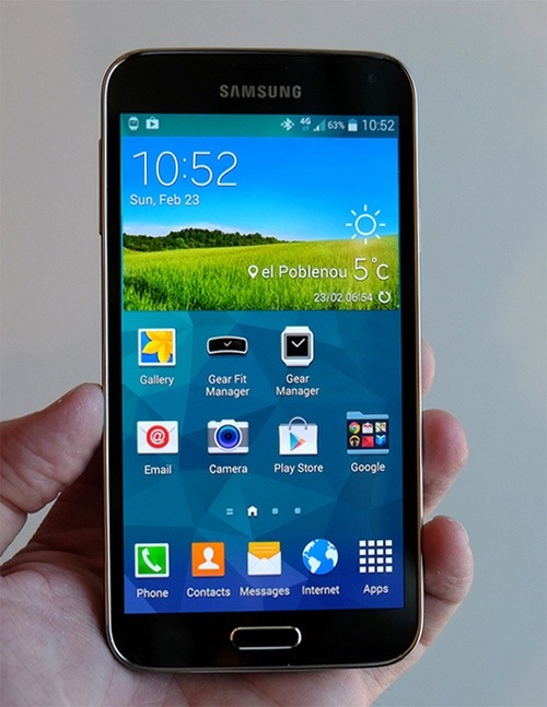 Samsung Galaxy S5 Launched Comes With Fingerprint And Heart Rate Monit...