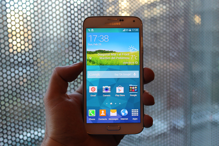 Samsung Galaxy S5 launched, comes with fingerprint and heart-rate monitor