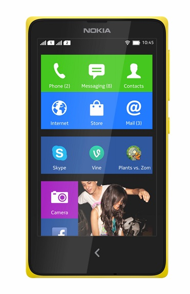 Nokia Android Phone series 'Nokia X' announced