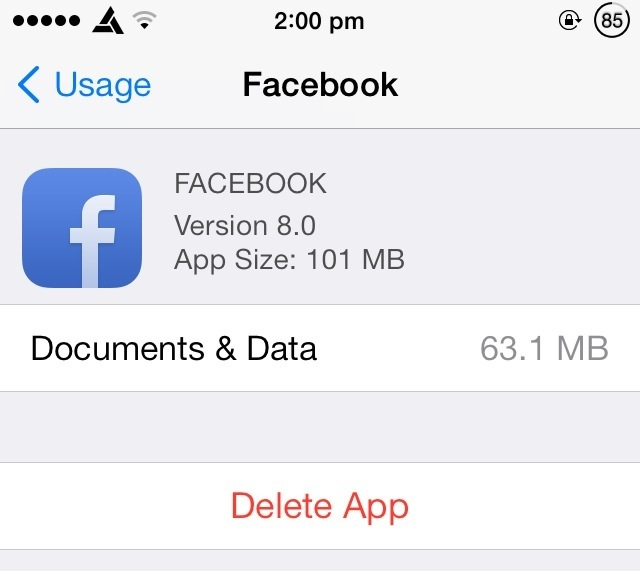 ios documents and data