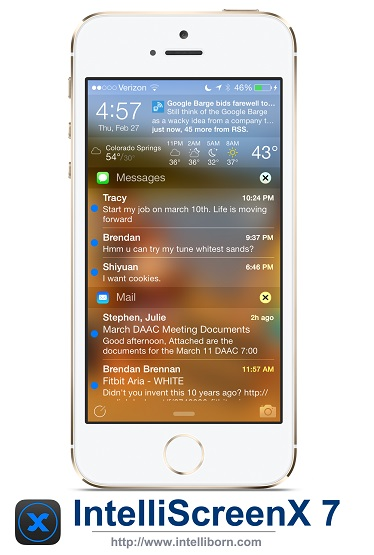 IntelliScreenX7 coming soon for iPhone, Video and images teased[update]