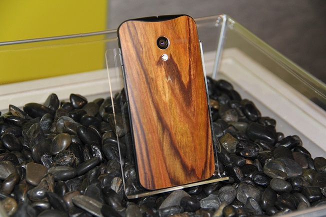 Moto X india wood back