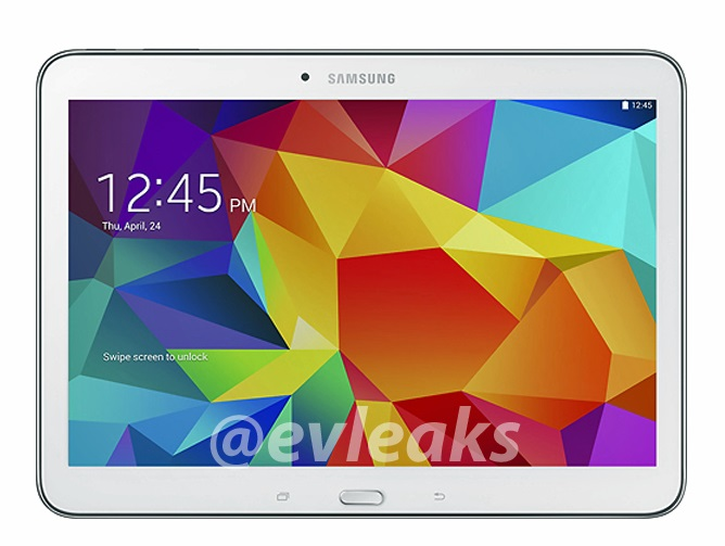 Samsung Galaxy Tab 4 10.1 and Galaxy Tab 4 7.0 multiple images leaked