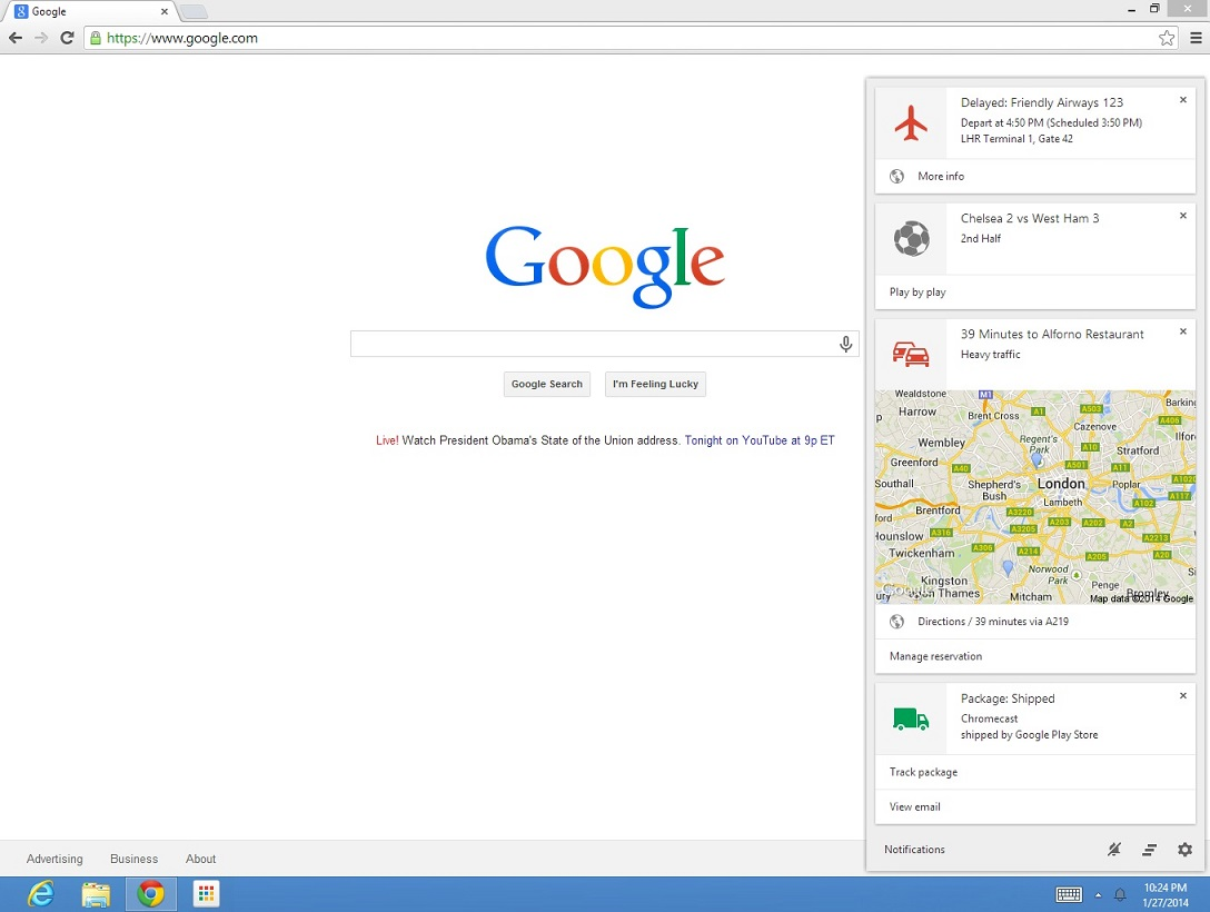 google now on windows and mac