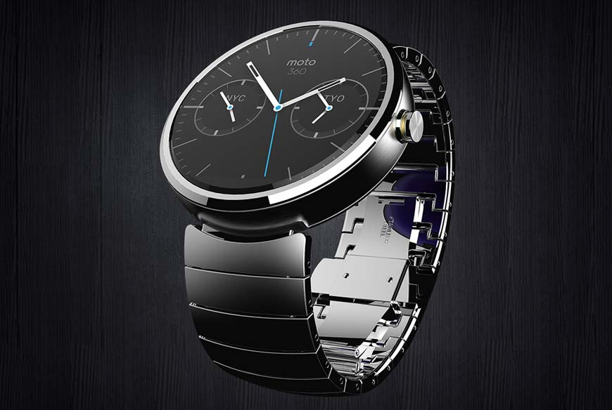 Motorola shows off Android Wear powered smartwatch, Moto 360