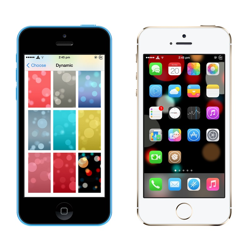 HiddenWallpapers : Unlock Hidden Dynamic Wallpapers in iOS 7