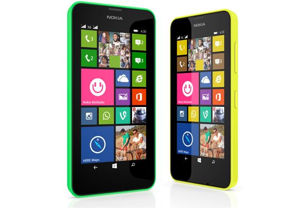 Nokia unveils budget smartphones Lumia 630 and Lumia 635