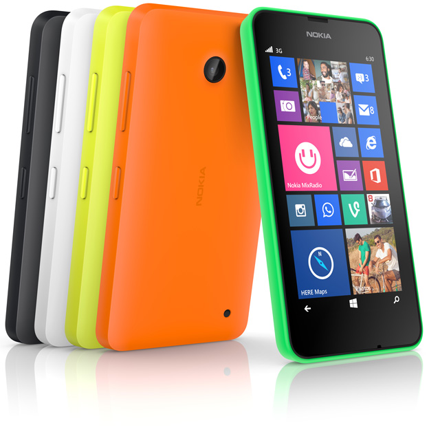 Nokia Lumia 630 and Nokia Lumia 630 dual sim launched in India