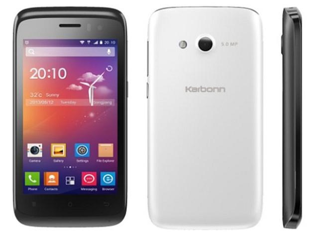 Karbonn Titanium S1 Plus available online for Rs. 5,749