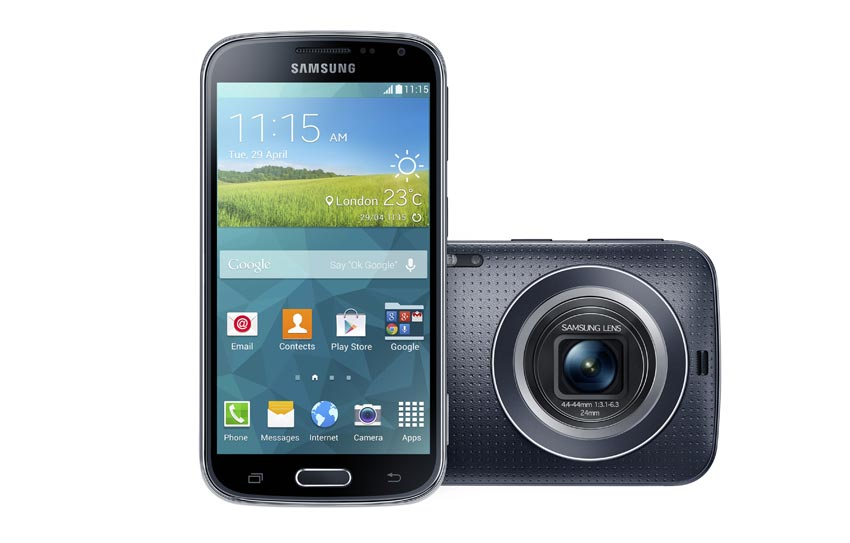 Samsung Galaxy K Zoom with 20.7 Megapixel camera announced