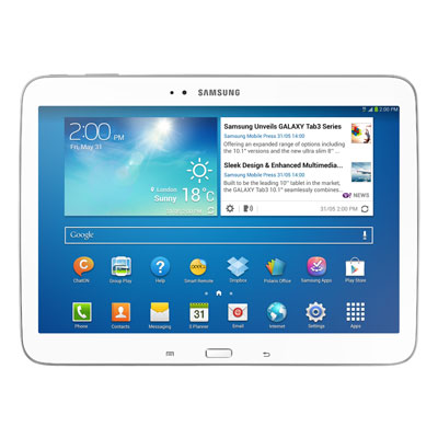 Samsung Galaxy Tab 3 10.1 listed on eStore for Rs. 36,340