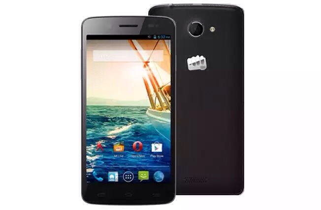 Micromax Canvas Elanza 2 with 5 inch HD display listed on website