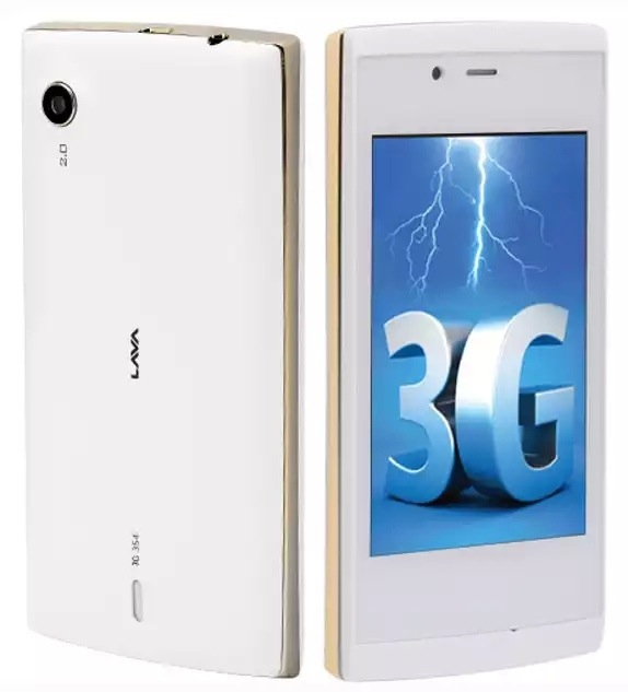 Lava 3G 354 with 3.5 inch display listed online