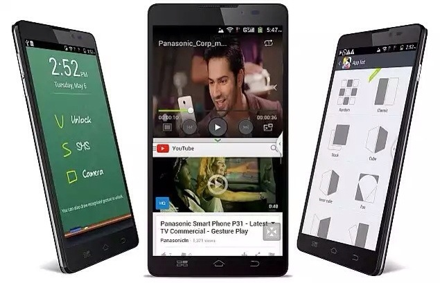 Panasonic P81 with Octa core processor launched for Rs. 18,990