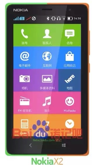 Nokia X Successor, Nokia X2 image and benchmark test leaked