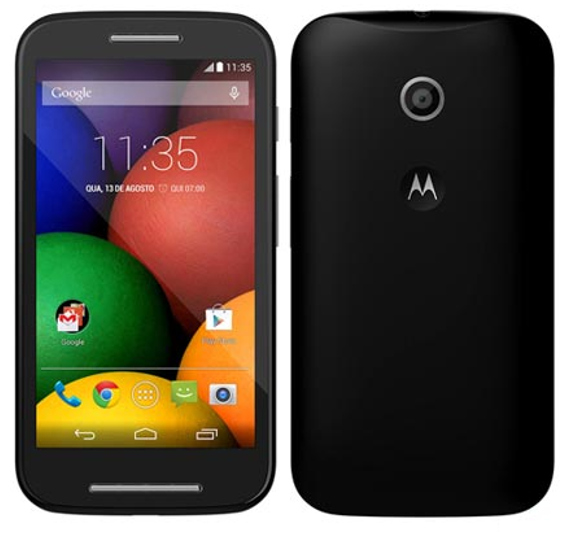 Second Gen Motorola Moto E Specifications leaked