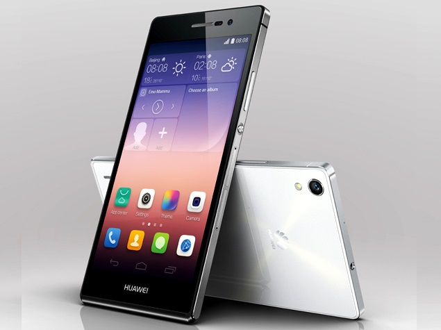 Huawei Ascend P7 with 5 inch Full HD display launched