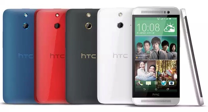 HTC One E8 with 5 inch display, polycarbonate plastic body announced
