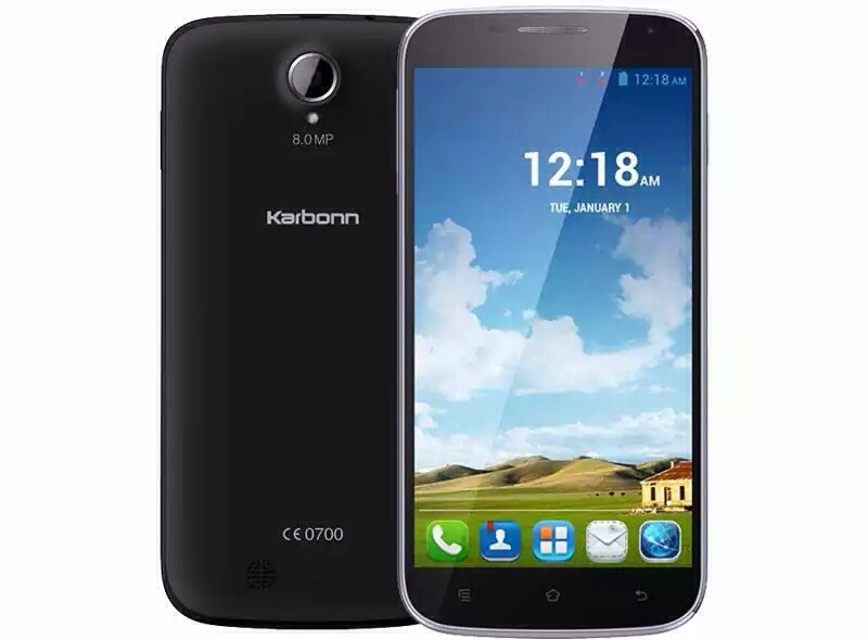 Karbonn Titanium S9 Lite with 5.5 inch screen available online at Rs. 8,990