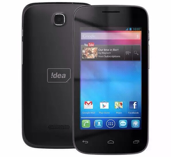 Idea !D 4000 with 4 inch screen launched in India for Rs. 4,999