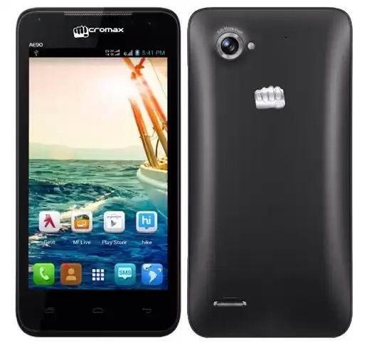 Micromax Canvas Duet AE90 with 4.5 inch screen available online for Rs. 8,999