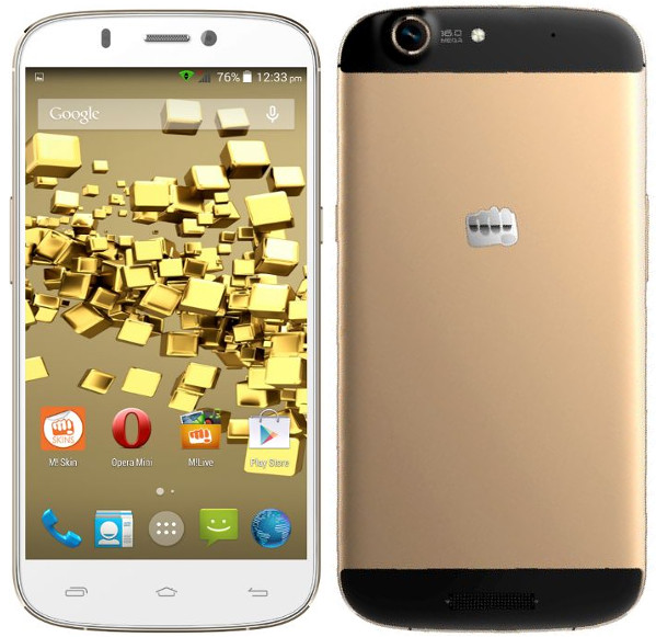 Micromax Canvas Gold A300 with 5.5 inch FHD screen available online
