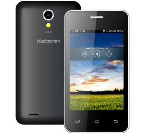 Karbonn A50s cheapest Android Smartphone launched for Rs. 2,790
