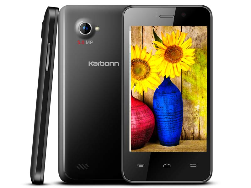 Karbonn Titanium S99 running on Android Kitkat launched at Rs. 5,990