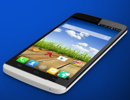 Micromax canvas L A108 with 5.5 inch screen, Android kitkat launched