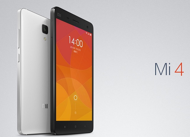 Xiaomi Mi4 with metallic frame and 5 inch FHD screen announced