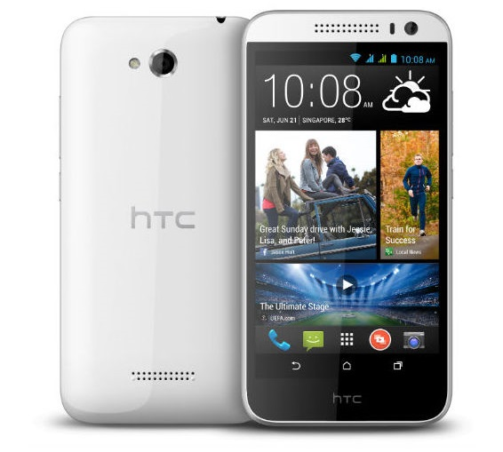 HTC desire 616 with 5 inch HD screen, Octa core processor announced