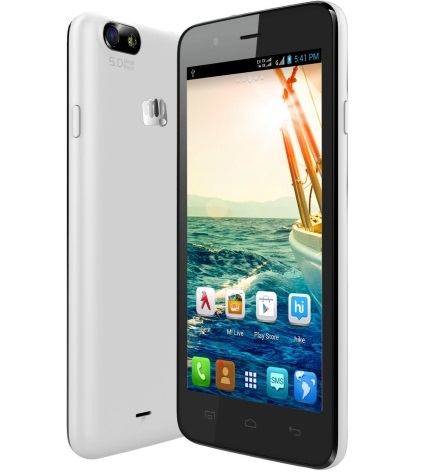 Micromax Bolt A069 with 5 inch screen, Android Kitkat available for Rs. 5,301