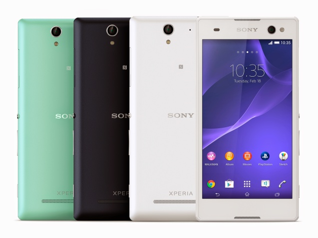 Sony Xperia C3 with 5 Megapixel selfie camera announced