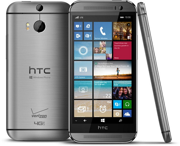 HTC One M8 for Windows phone launched exclusively for Verizon
