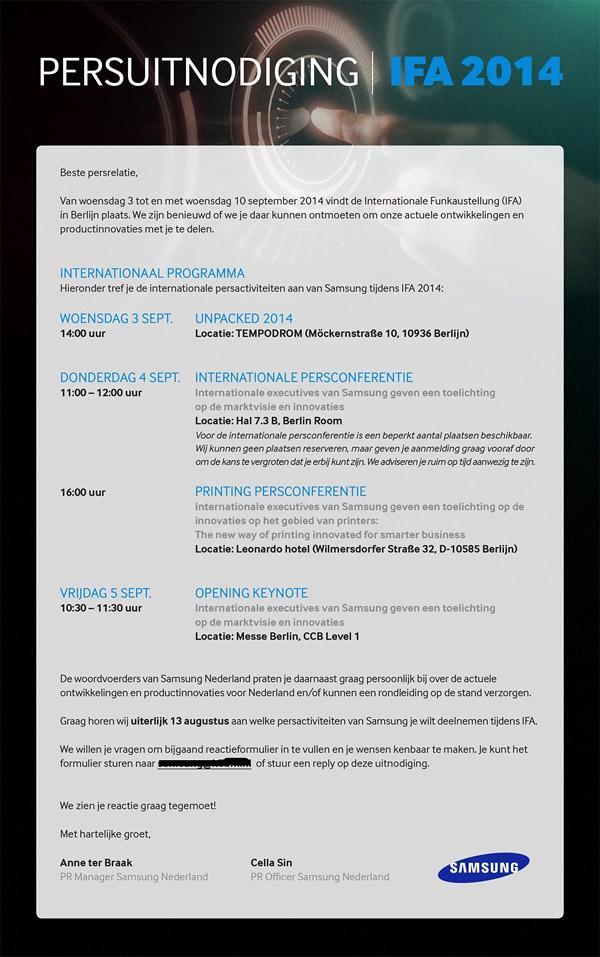 Note 4 Invite