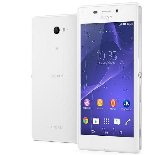 Sony Xperia M2 Aqua low cost waterproof smartphone announced