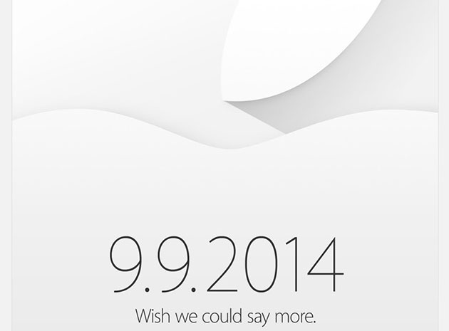 """Wish We Could Say More""- Apple confirms iPhone 6 event on September 9"
