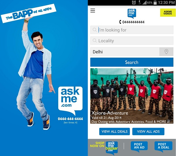 Review: Here's why ASKME is the baap of all apps