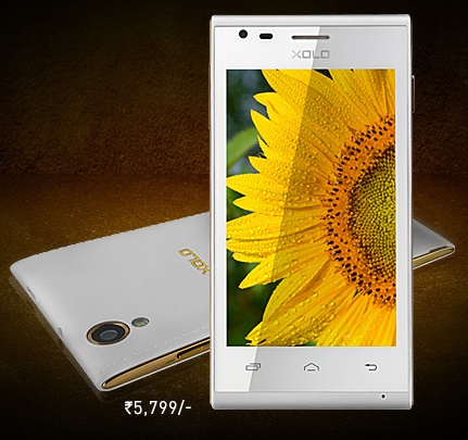 Xolo A550s IPS with 4 inch screen launched in India for Rs. 5,799